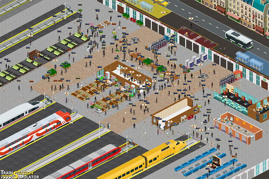 Train Station Simulator - TSS