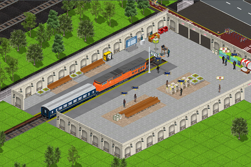 Train Station Simulator - TSS